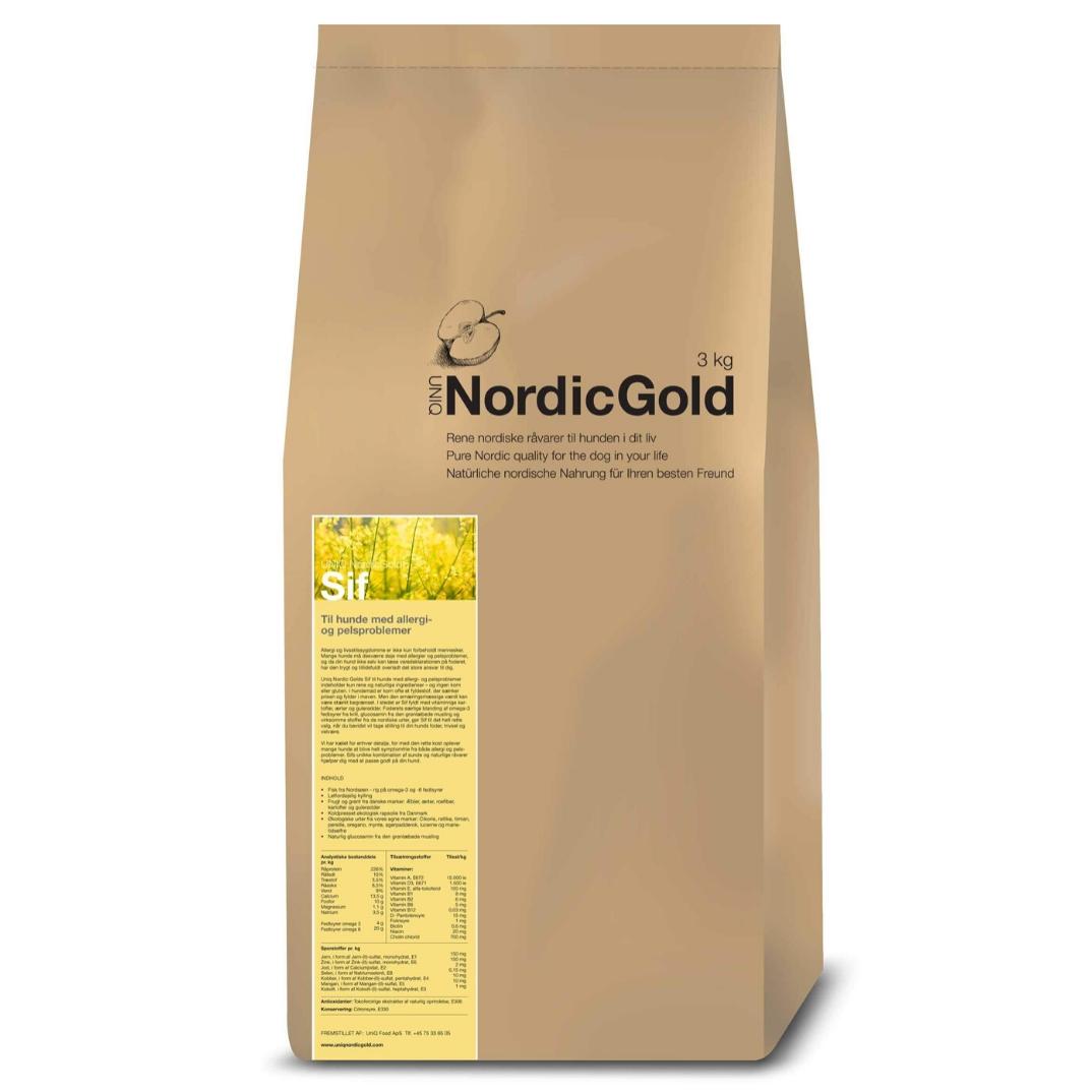 UniQ Nordic Gold hundemad til følsom mave
