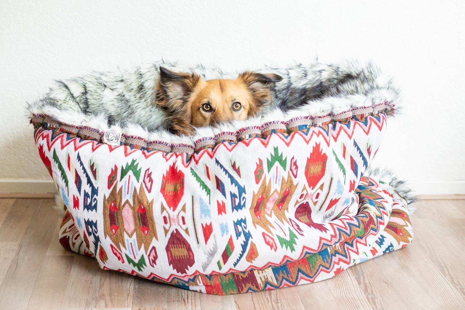 Transport hundesovepose i lækker kvalitet og håndlavet